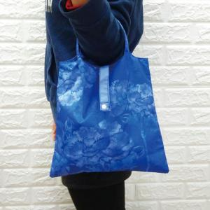 PS019 - Small size fancy cute custom reusable polyester tote folding shopping bag
